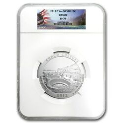 2012-p 5 Oz Silver Atb ✪ Chaco Culture ✪ 25c Ngc Sp-70 Satin Finish Nm ◢trusted◣