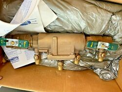 Watts 007 M1 Qt Double Check Valve Assembly W Ball Shut-offs 90s New Old Stock