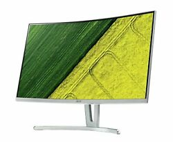 Acer Ed273 27 Inch Full Hd Freesync Wall Mountable Curved Led Monitor - White