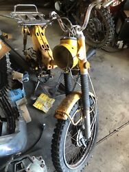 Honda Ct90 Trail 90 5/1970 Frame And Other Parts