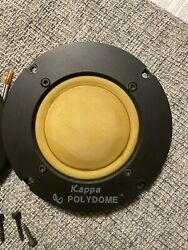 Infinity Polydome Midrange Kappa Speakers From 8.1 Tower Used Working Tested +