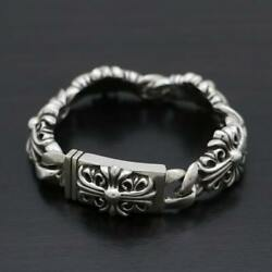Chromehearts With Warranty Keeper Link Bracelet Links 101.9g Secondhand 20-1726