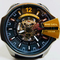 Diesel [rare Sold Out Model] Self-winding Open Heart Full Operation Good