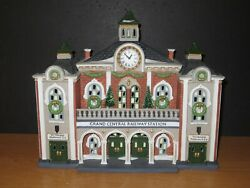 Dept 56 Christmas In The City Grand Railway Central Station
