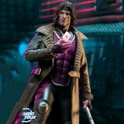 Limited Edition X-men Gambit 1/6 Scale The King Of Poker Figure Collectible Set