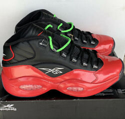 Reebok Question Mid Sneakers Iverson Men's Basketball Shoes G57551 Size 11