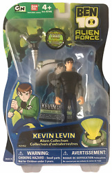 Ben 10 Alien Force Collection Kevin Levin 4'action Figure New Mosc Bandai 2009