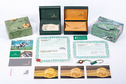 Original Vintage Rolex Watch Box And Papers Lot - Oyster And Explorer ++ Links