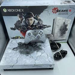 Xbox One X 1tb Gears Of War 5 Limited Edition System Console W/ Box Controller