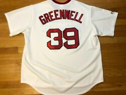 Stitched Cooperstown Collection Majestic Mike Greenwell 39 Red Sox Jersey 2xl