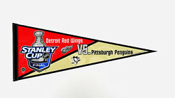 2009 Stanley Cup Finals Pennant Penguins Red Wings Wincraft Pennant