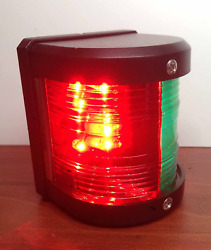 Pactrade Marine Boat Red And Green Bow Led Navigation Light Waterproof 2 Nautical