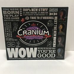 Cranium Wow Youand039re Good Board Game Adult Open Box Sealed Contents Euc