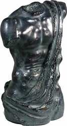Vintage Resin Faux Bronze Classical Bust