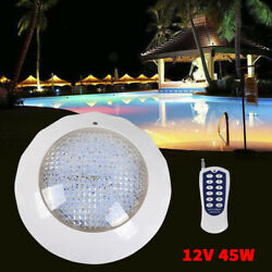 New Led Swimming Pool Light Color Change Bulb Ip68 Fixture Remote Control Sale