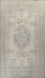 Antique Muted Handmade Traditional Evenly Low Pile Palace Size Area Rug 11x16