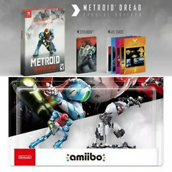 Metroid Dread Special Edition And Amiibo Set Sold Out Nintendo Switch Preorder