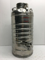 Aervoid Thermal Liquid Carrier 5 Gallon Stainless Steel Jug Container Model 804
