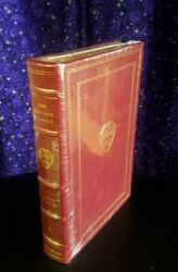 New/sealed Famous Prefaces The Harvard Classics Easton Press Leather Hardcover