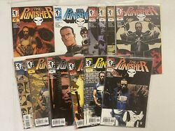 Marvel Comic Lot The Punisher 1 2 3 4 5 6 7 8 9 10 11 12 1-12 Nm Bagged 2000