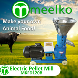 Electric Pellet Mill For Bull Food - Mkfd120b Free Shipping