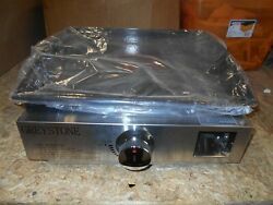 17 Tabletop Greystone Outdoor Hfp-17sc Griddle 15000 Btu Free Shipping
