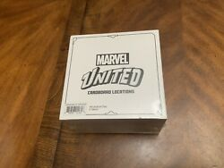 Marvel United Cardboard Locations 44 Tiles And 6 Tokens Kickstarter Exclusive