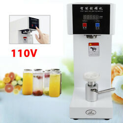 Auto Can Sealer 180w Commercial Plastic Beverage Bottle Sealing Capping Machine