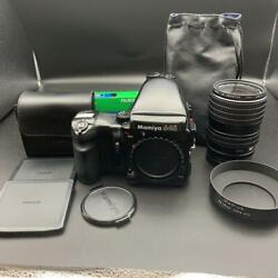 Mamiya 645 Pro And Sekor 55-110mm F/4.5 Tested Working Used