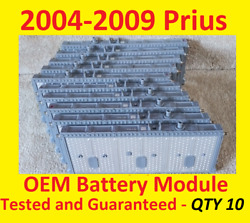 10 7.6v+ Toyota Prius Battery Cell Module 2004 2005 2006 2007 2008 2009 2010..