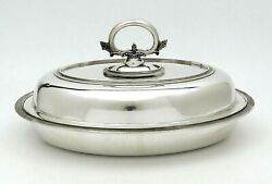 Broadway Sterling Silver Covered Entree Dish 40 Oz No Monogram