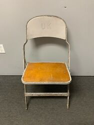University Of Kentucky Wildcats Game Used Metal Chair
