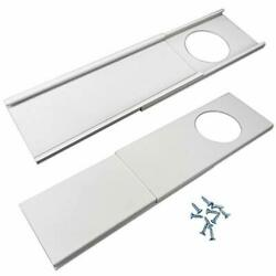 Jeacent Window Seal Plates Kit For Portable Air Conditioners Plastic Ac Vent ...