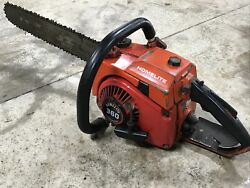 Vintage Homelite 360 Chainsaw With Bar/chain - Parts Saw Xxx