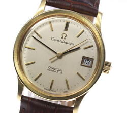 Omega Constellation 166.052 18k Yellow Gold Cal.1002 At Menand039s Watch_622914