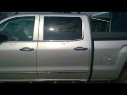 No Shipping Driver Rear Side Door Crew Cab Opt Ako Fits 14-18 Sierra 1500 Pick