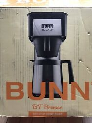 Bunn Bt 10 Cup Thermal Carafe Brewer Coffeemaker Coffee Maker Black And Ssteel