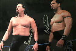 Wwe John Bradshaw Layfield Ron Simmons Faarooq Signed / Autographed 12x18 Poster