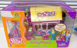 Retired Rare Polly Place Sweet Treats Playset Polly Pocket New