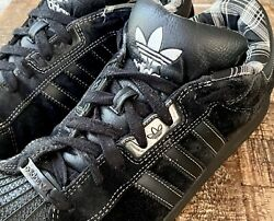 Adidas Superstar Ii Black Lobsters Wide 2010 Very Rare 8.5/10 Size 10.5