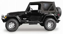 Rampage 68735 Complete Soft Top Replacement Kit Fits 1997-2006 Jeep Wrangler Tj