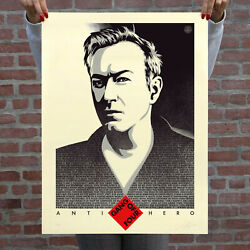 Obey Shepard Fairey Andy Gill Anti-hero Us Gang Of Four