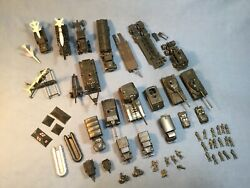 Lot Of Roco Military Vehicles, Tanks, Rockets And Soldiers 187, From 1960's