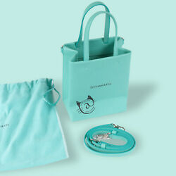 And Co. Shopping Tote Bag Small Leather Cat Street Tokyo Limited New