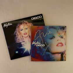 Kylie Minogue Disco Signed Cd Signiert