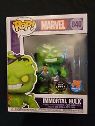 Immortal Hulk 840 Chase Glow 6andrdquo Px Previews Exclusive Funko Marvel