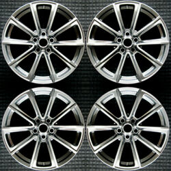 Ford Mustang Hyper Silver 19 Oem Wheel Set 2015 To 2017