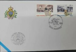 A 1998 San Marino The Museum Of Emigration Fdc Emigrantes Departing And Wor