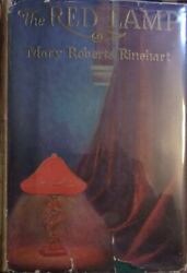 Mary Roberts Rinehart The Red Lamp First Edition Dust Jacket