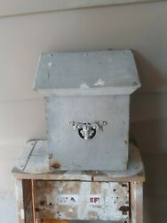 Metal Wall Mount Mailbox Mail Box Antique▪︎rare